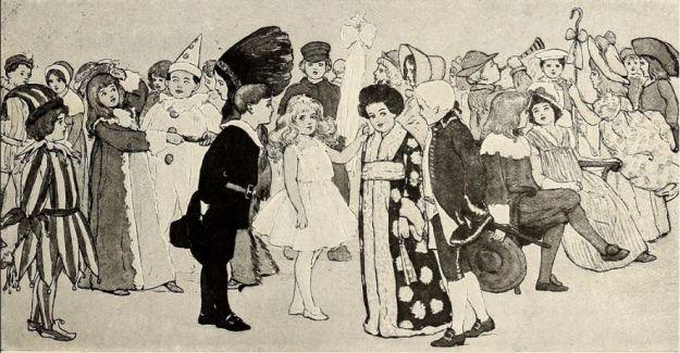 At the Children's Masquerade, c. 1905
