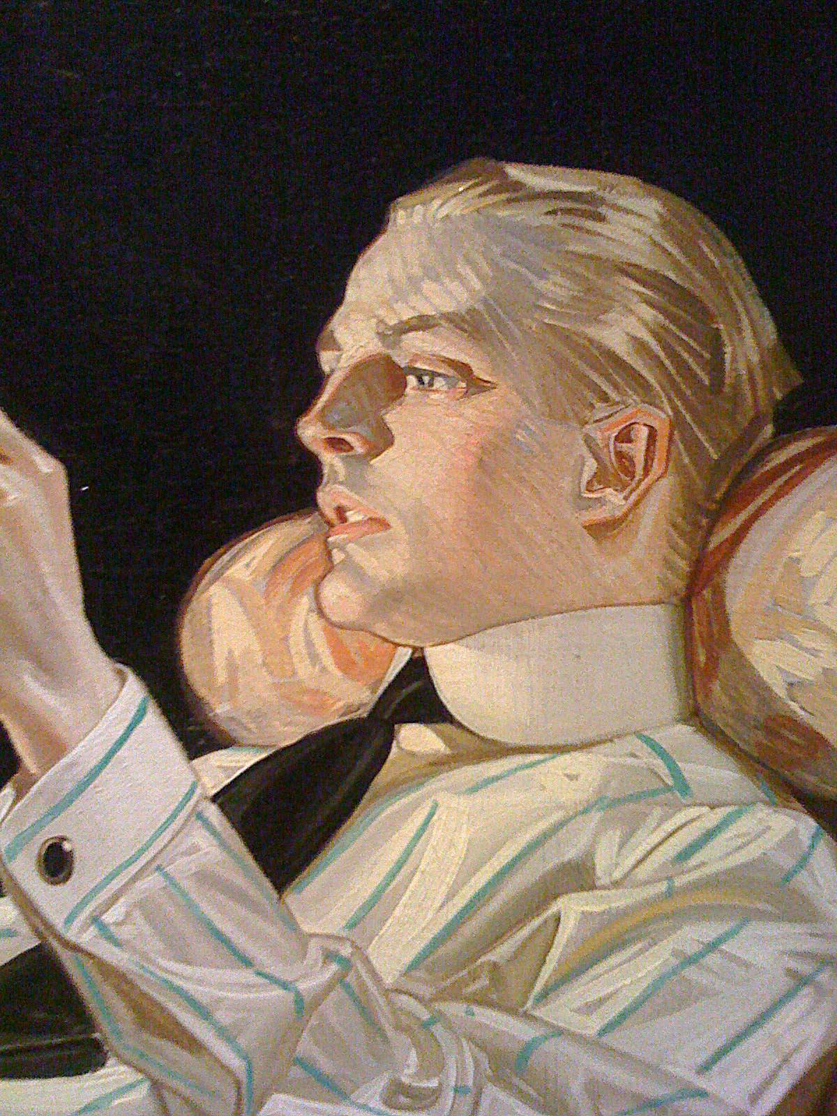 Leyendecker handsome man