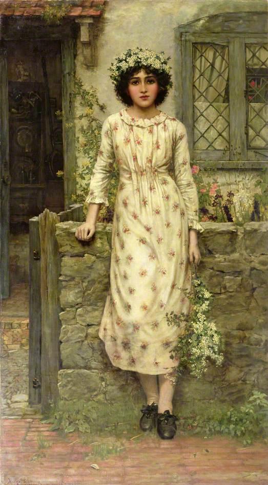 Schmalz, Herbert Gustave, 1856-1935; Queen of the May